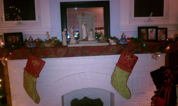 Stockings hung with care...
