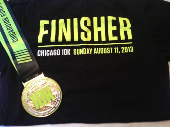 chicago 10k medal