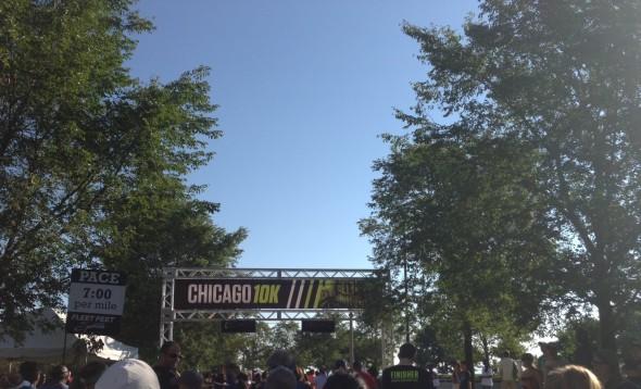 chicago 10k start